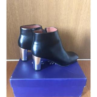 ユナイテッドアローズ(UNITED ARROWS)のメタルヒール・ショートブーツ・ザラ・ユナイテッドアローズ(ブーツ)