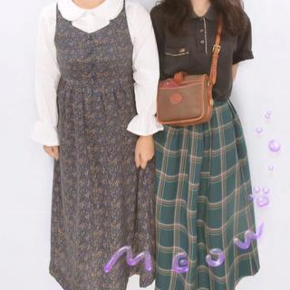 サマンサモスモス(SM2)のehkasopo チェックスカート(ひざ丈スカート)