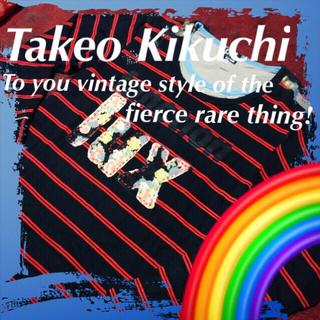 タケオキクチ(TAKEO KIKUCHI)の❇️【Takeo Kikuchi】タケオキクチのヴィンテージレアモデル☆‼️(Tシャツ/カットソー(七分/長袖))