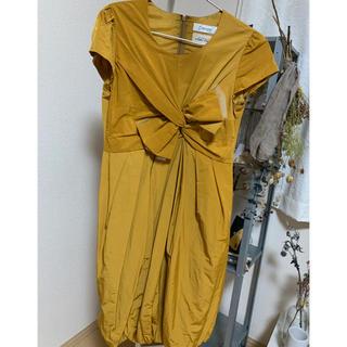 ナノユニバース(nano・universe)の【ナノユニバース】結婚式 ドレス ◎(ミディアムドレス)