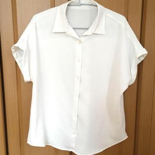 ジーユー(GU)のGU エアリー シャツ 半袖 ブラウス (シャツ/ブラウス(半袖/袖なし))