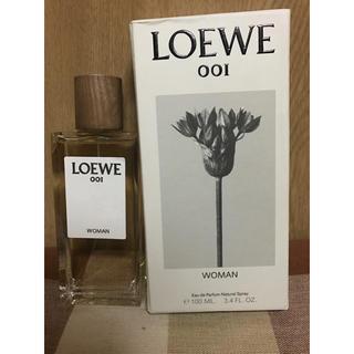 ロエベ(LOEWE)のLOEWE ロエベ woman 001  香水 100ml 新品(香水(女性用))