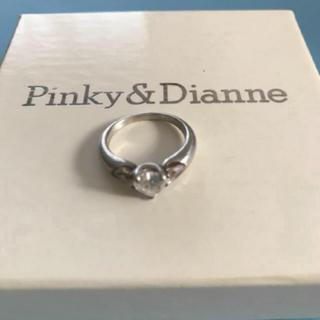 ピンキーアンドダイアン(Pinky&Dianne)のPinky&Dianne シルバー ハートリング(リング(指輪))
