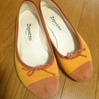 レペット(repetto)の【Yuki様repettoバレエスエード(ローファー/革靴)