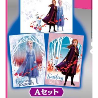 アナトユキノジョオウ(アナと雪の女王)のアナと雪の女王2 ポストカード 前売り特典  ムビチケ 特典 限定(邦画)
