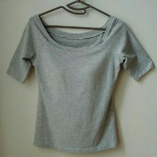 UNIQLO - ユニクロ ブラトップ Tシャツ S グレー