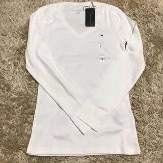 トミーヒルフィガー(TOMMY HILFIGER)の【ショップ袋あり※価格交渉OK】トミーフィルフィガー tシャツ(Tシャツ(長袖/七分))