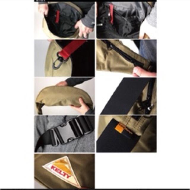 KELTY(ケルティ)の【新品】KELTY ケルティ ウエストバッグ ボディバッグ レディースのバッグ(ボディバッグ/ウエストポーチ)の商品写真