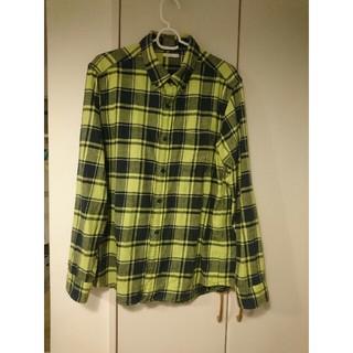 ジーユー(GU)のGU チェックシャツ L(シャツ)