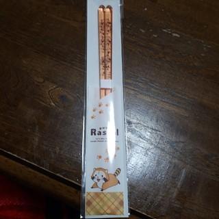 アライグマラスカル アクリル箸(カトラリー/箸)