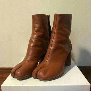 マルタンマルジェラ(Maison Martin Margiela)のマルジェラ 足袋ブーツ(ハイヒール/パンプス)