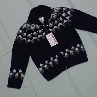 マックレガー(McGREGOR)の新品マックレガーニットカウチンジャケット110男の子(ジャケット/上着)