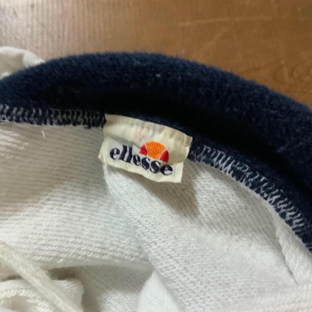 ellesse(エレッセ)の90's ellese トリコカラー ビッグ刺繍 フーディ  パーカー メンズのトップス(パーカー)の商品写真