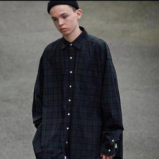 BEAMS - 19aw ssz ah. ビックシャツ ブラックウォッチ