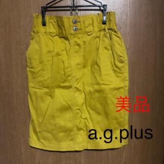 エージープラス(a.g.plus)の【美品】a.g.plus タイトスカート(ひざ丈スカート)
