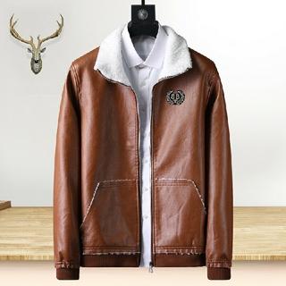 バレンシアガ(Balenciaga)のBlenciaga メンズ ライダースジャケット 防寒  DWR 耐久性撥水加工(ライダースジャケット)