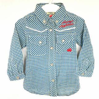 ブリーズ(BREEZE)のアップルシード チェックシャツ(シャツ/カットソー)