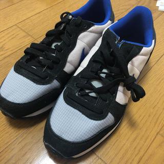 ナイキ(NIKE)のNIKE(グレー/ブラック/ブルー)【Mens/25.5/新品】(スニーカー)