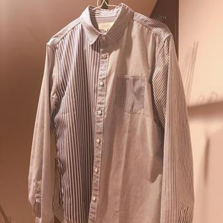 ヒロミチナカノ(HIROMICHI NAKANO)の【hiromichi nakano】マルチストライプシャツ(シャツ)