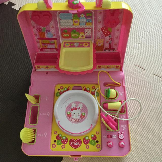 PILOT(パイロット)のメルちゃん 3点セット びようしつ、アイス、ベビーフード  キッズ/ベビー/マタニティのおもちゃ(知育玩具)の商品写真