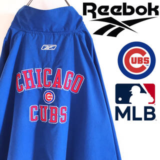 リーボック(Reebok)の古着 シカゴ・カブス MLB ナイロンジャケット リーボック ビッグサイズ(ナイロンジャケット)