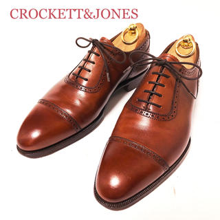 クロケットアンドジョーンズ(Crockett&Jones)の115. CROCKETT&JONES ハンドグレード ALBANY 5 1/2(ドレス/ビジネス)