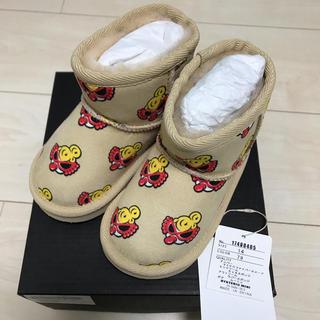 ヒステリックミニ(HYSTERIC MINI)のヒスミニ ムートン ブーツ 14センチ(ブーツ)