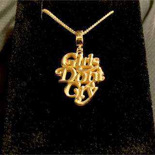 ジーディーシー(GDC)のGDC Girls don't cry 14k gold chain ネックレス(ネックレス)