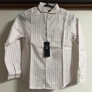 コムサデモード(COMME CA DU MODE)の男児ストライプシャツ130cm☆コムサエンジェル(ドレス/フォーマル)