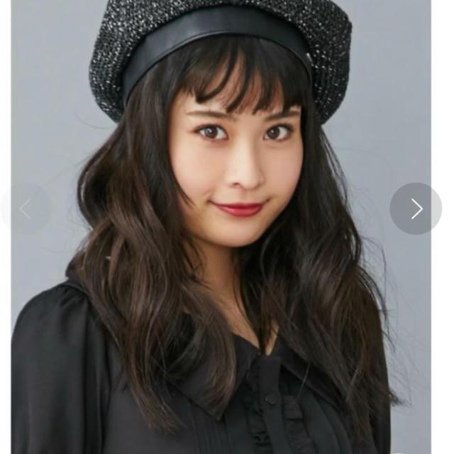 EATME(イートミー)のEATME  グリッターベレー帽 レディースの帽子(ハンチング/ベレー帽)の商品写真