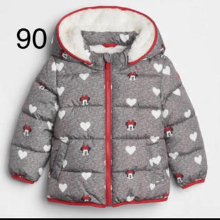 babyGAP - babyGAP ミニー ボア 中綿ジャケット アウター 90 ギャップベビー