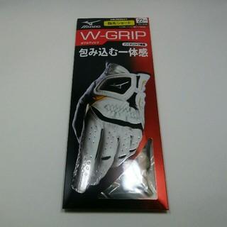 ミズノ(MIZUNO)のミズノ ゴルフグローブ左手用 黒(その他)