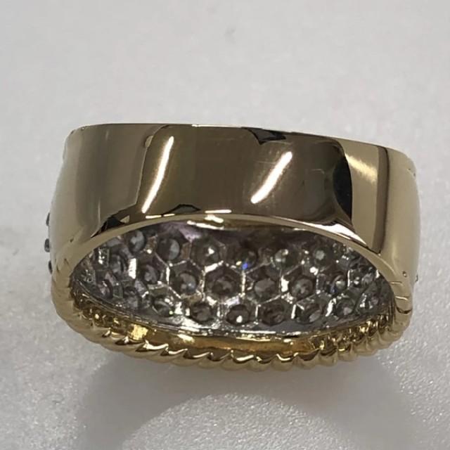 K18/PT900 ダイヤモンド2.20ct リング#17   レディースのアクセサリー(リング(指輪))の商品写真