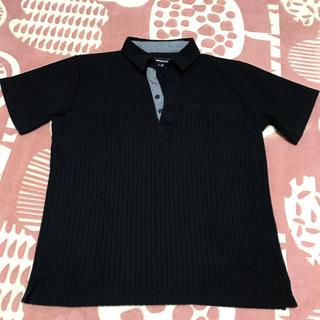 semantic design - セマンティックデザイン ポロシャツ Tシャツ 黒 semantic design