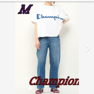 チャンピオン(Champion)のゲリラセール☆*° Champion オーバーシルエット激推しTシャツ サイズℳ(Tシャツ(半袖/袖なし))