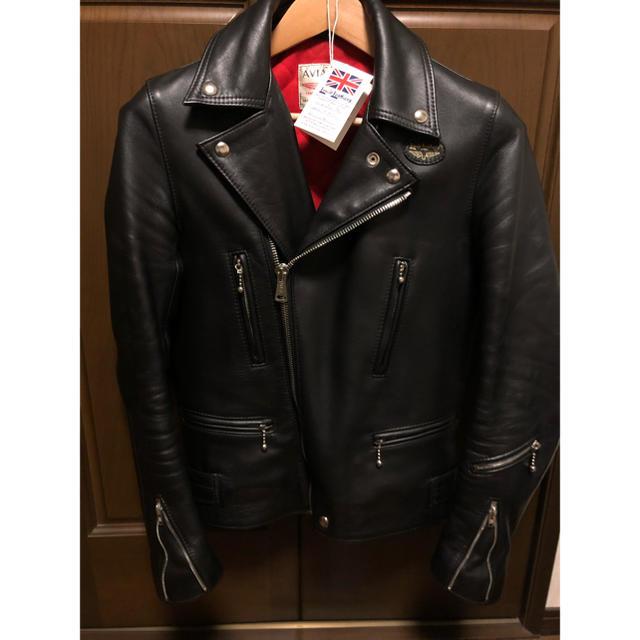 Lewis Leathers(ルイスレザー)のルイスレザー ライトニング ライダースジャケット 34サイズ メンズのジャケット/アウター(ライダースジャケット)の商品写真