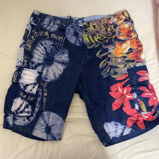 DESIGUAL - Desigual 柄パンツ ショートパンツ