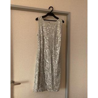 カルバンクライン(Calvin Klein)のCalvin Klein ドレス(ミディアムドレス)