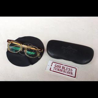 テンダーロイン(TENDERLOIN)の極美品TENDERLOINテンダーロイン白山眼鏡T-JERRY初期型金具GOLD(サングラス/メガネ)