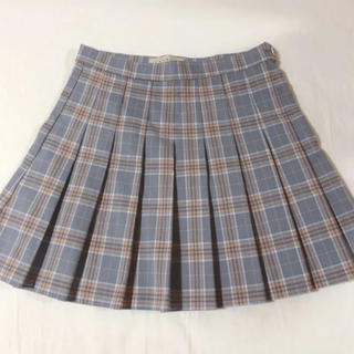 ミックスエックスミックス(mixxmix)のmixxmix ギンガムチェックテニススカート (ミニスカート)