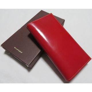 ホワイトハウスコックス(WHITEHOUSE COX)の■新品定価4.7万【ホワイトハウスコックス】極上長財布 ブライドルレザー 赤(長財布)