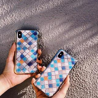 シールームリン(SeaRoomlynn)のiPhoneケース モザイクタイル(iPhoneケース)