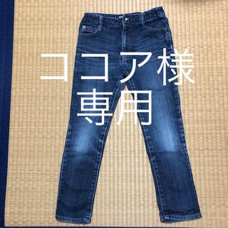 しまむら - しまむら デニム パンツ 130cm