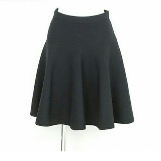 ルシェルブルー(LE CIEL BLEU)のLE CIEL BLEU ニットスカート(ひざ丈スカート)