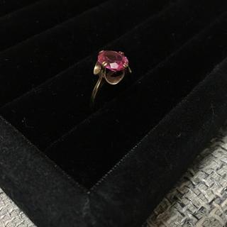 アンティークリング イギリス K9 指輪(リング(指輪))