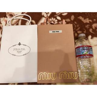 ミュウミュウ(miumiu)のPRADA・MIUMIU ショップ袋(ショップ袋)