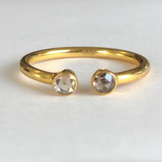 ローズカット ブラウンダイヤモンド リング k18 検索 マリーエレーヌ (リング(指輪))