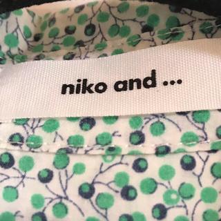 ニコアンド(niko and...)のniko and...シャツ(シャツ/ブラウス(長袖/七分))