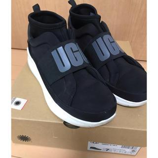 UGG - ugg ニュートラスニーカー 黒 24センチ USA7サイズ