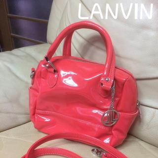 ランバンオンブルー(LANVIN en Bleu)のLANVIN  バッグ(ハンドバッグ)